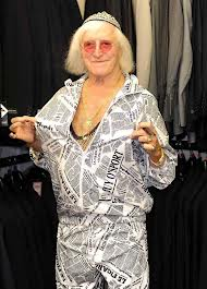 Jimmy Savile wearing Kippah